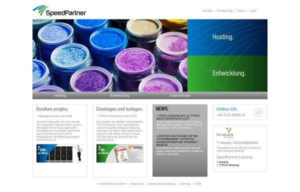 Vorschau von www.speedpartner.de, SpeedPartner GmbH