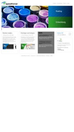 Vorschau der mobilen Webseite www.speedpartner.de, SpeedPartner GmbH