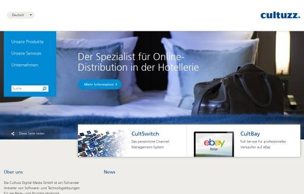 Vorschau von www.cultuzz.de, Cultuzz Digital Media GmbH