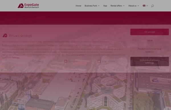 Vorschau von expogate-munich.de, Expo - gate GmbH