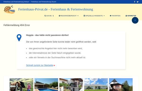 Vorschau von www.ferienhaus-privat.de, Peuser, Dr. Tamas