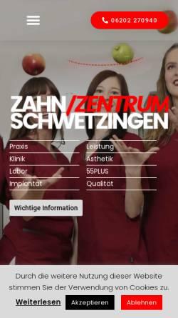 Vorschau der mobilen Webseite www.dr-micke.de, Dr. Micke