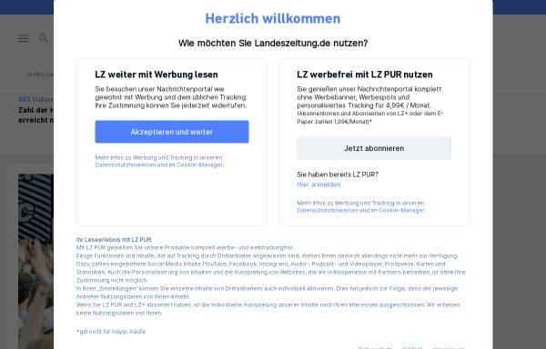 Vorschau von www.landeszeitung.de, Landeszeitung für die Lüneburger Heide