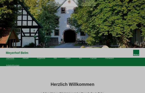 Vorschau von www.meyerhof-belm.de, Meyerhof