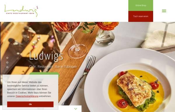 Vorschau von www.ludwigs.cc, Cafe Restaurant Bar Ludwigs