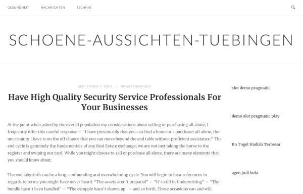 Vorschau von www.schoene-aussichten-tuebingen.de, Café Schöne Aussichten