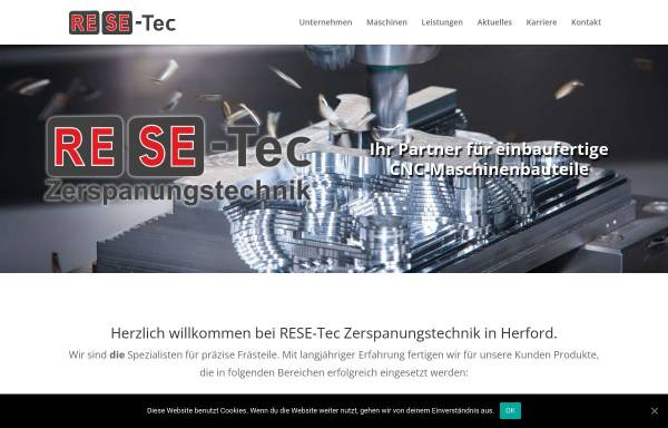 Vorschau von www.resetec.de, RESE Tec GmbH