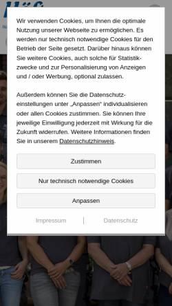 Vorschau der mobilen Webseite www.haustechnik-hoeft.de, Höft GmbH Haustechnik