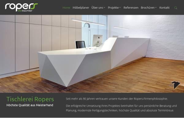 Vorschau von www.ropers-gmbh.de, Johann Ropers Möbeltischlerei GmbH