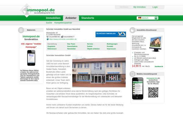 Vorschau von www.immopool.de, Schröder GmbH