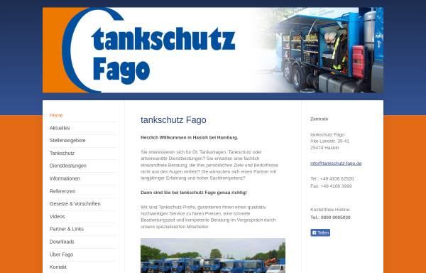 Vorschau von www.tankschutz-fago.de, Tankschutz Fago GmbH