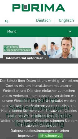Vorschau der mobilen Webseite www.rpe-online.de, RPE Pape Anlagentechnik GmbH & Co. KG