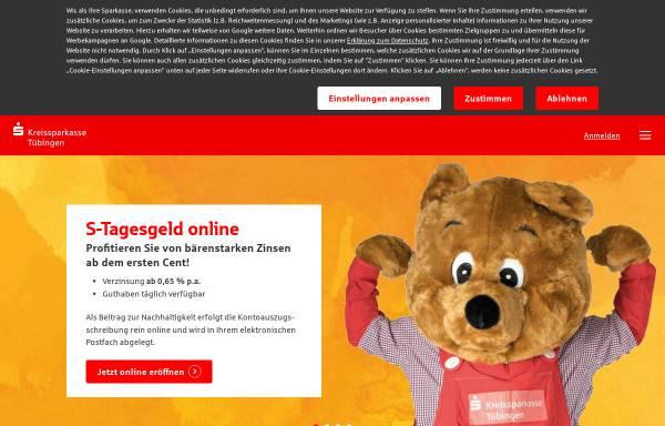 Vorschau von www.ksk-tuebingen.de, Kreissparkasse Tübingen