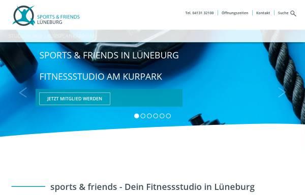 Vorschau von www.sportsandfriends.de, Sports & friends