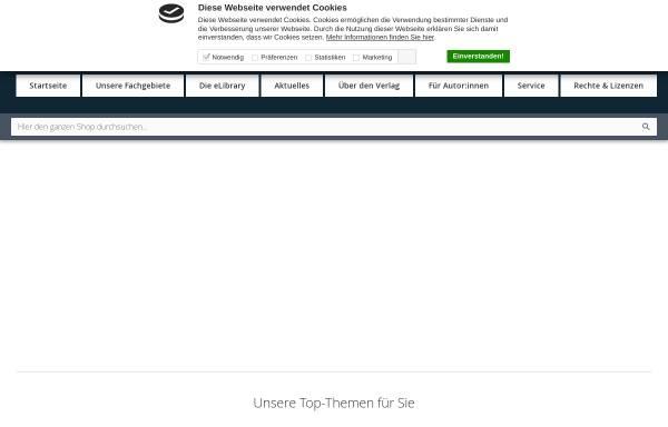 Vorschau von www.narr.de, Gunter Narr Verlag/A. Francke Verlag/Attempto Verlag