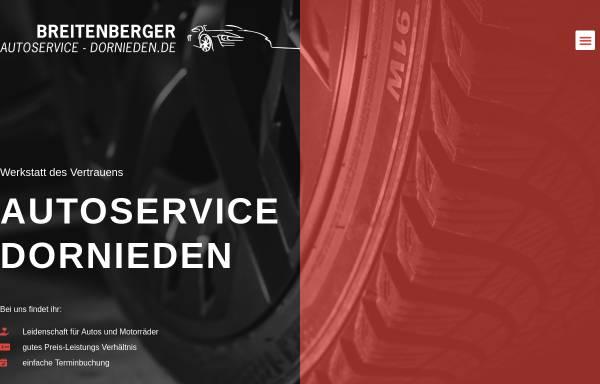 Vorschau von autoservice-dornieden.de, Breitenberger Auto & Reifenservice