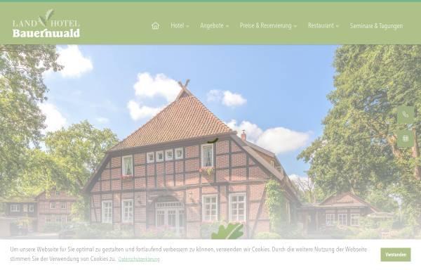 Vorschau von www.landhotel-bauernwald.de, Landhotel Bauernwald