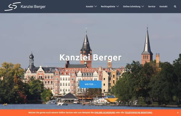 Vorschau von www.kanzlei-berger.de, Rechtsanwaltskanzlei Berger
