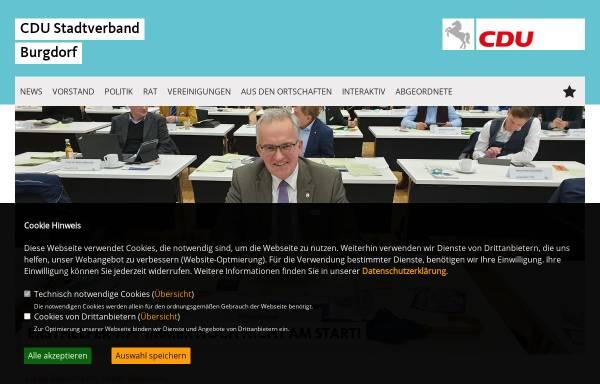 Vorschau von www.cdu-burgdorf.de, CDU Burgdorf