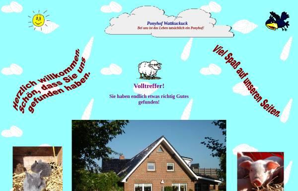 Vorschau von www.wattkuckuck.de, Ferienwohnungen