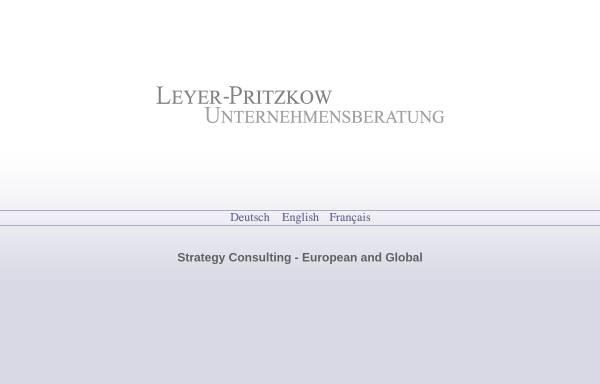 Vorschau von www.leyer-pritzkow.com, Leyer-Pritzkow & Partner