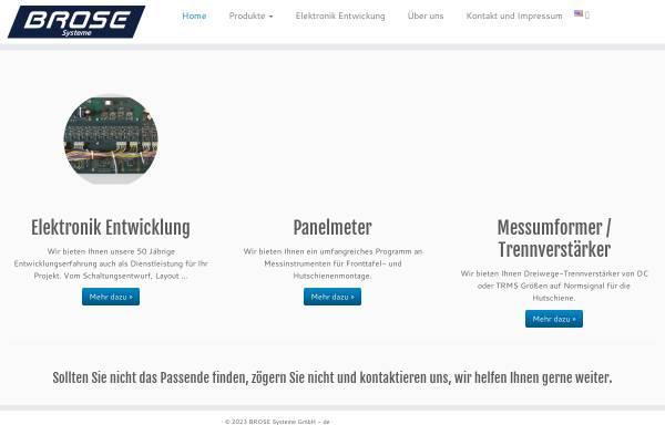 Vorschau von www.brose-systeme.de, Brose Systeme GmbH