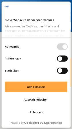 Vorschau der mobilen Webseite www.compumess.de, CompuMess Elektronik GmbH