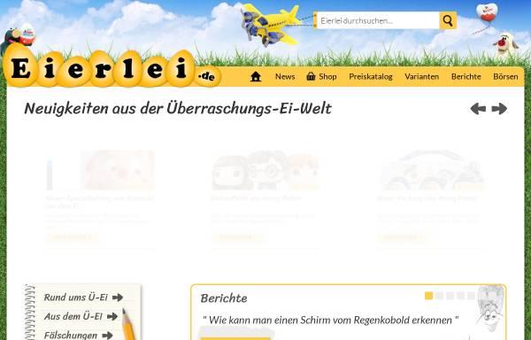 Vorschau von www.eierlei.de, Eierlei