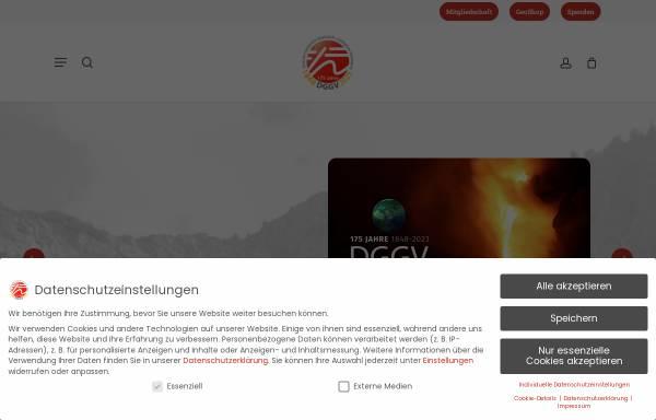 Vorschau von www.dgg.de, Deutsche Geologische Gesellschaft (DGG)