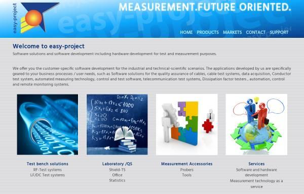 Vorschau von www.easy-project.de, Easy-Project - Dipl.-Ing.(FH) Wolfgang Knoblich