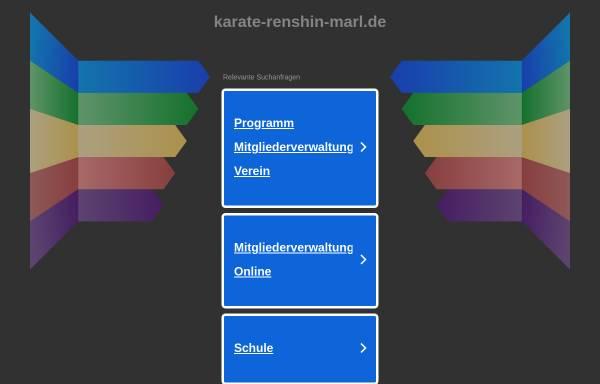 Vorschau von www.karate-renshin-marl.de, Marler Verein für Karate