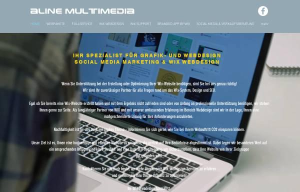 Vorschau von www.alinemultimedia.com, Aline