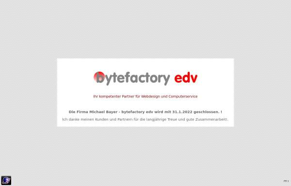 Vorschau von www.bytefactory.at, Bytefactory