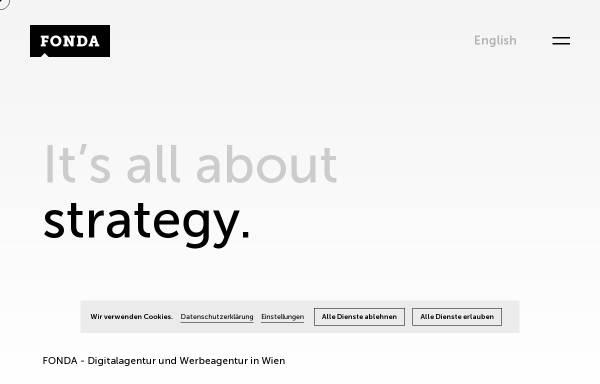 Vorschau von www.fonda.at, FONDA Interaktive Medien und Kommunikation GmbH
