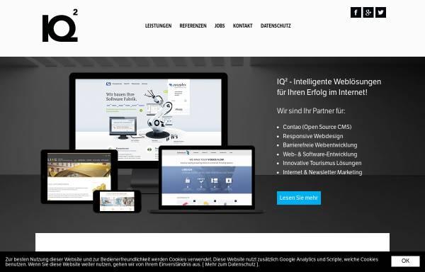 Vorschau von www.iq2.at, Informations- und Kommunikationssysteme Reschun und Partner KEG