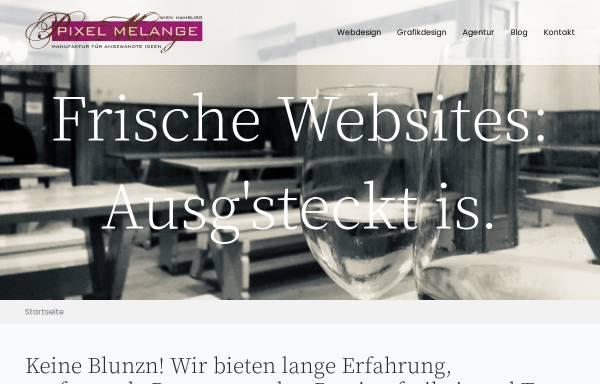 Vorschau von www.pixel-melange.com, Pixel Melange Werbeagentur