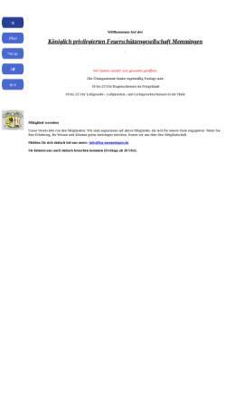 Vorschau der mobilen Webseite www.fsg-memmingen.de, Königlich privilegierte Feuerschützengesellschaft 1414 Memmingen