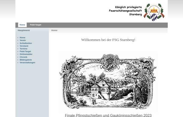 Vorschau von fsg-starnberg.de, Königlich privilegierte Feuerschützengesellschaft Starnberg