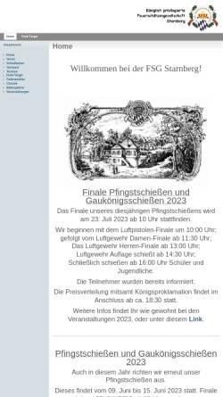 Vorschau der mobilen Webseite fsg-starnberg.de, Königlich privilegierte Feuerschützengesellschaft Starnberg