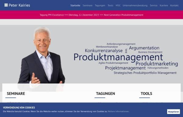 Vorschau von peterkairies.de, Peter Kairies