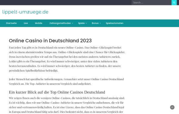Vorschau von www.lippelt-umzuege.de, Lippelt-Umzüge