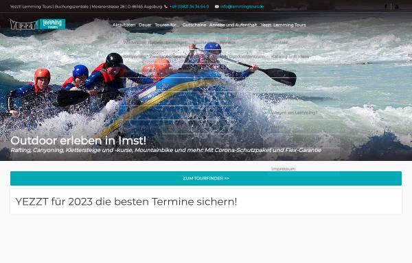 Vorschau von www.lemmingtours.de, Lemming Tours