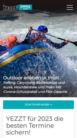Vorschau der mobilen Webseite www.lemmingtours.de, Lemming Tours