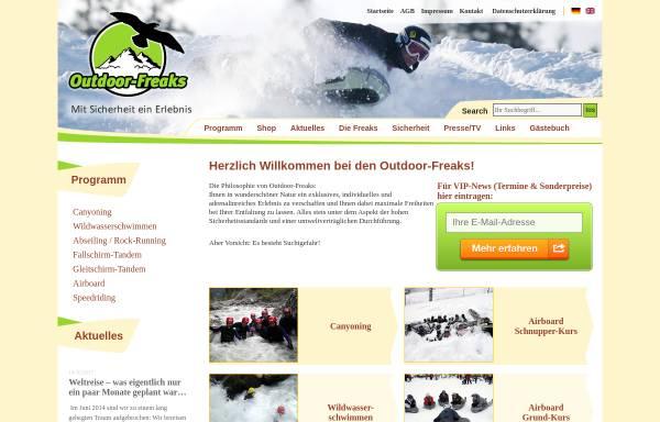 Vorschau von www.outdoor-freaks.de, Outdoor-Freaks GmbH