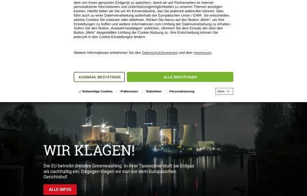 Vorschau von www.bund.net, Bund für Umwelt und Naturschutz Deutschland