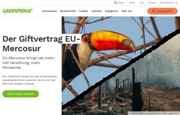 Vorschau von www.greenpeace.de, Greenpeace Deutschland