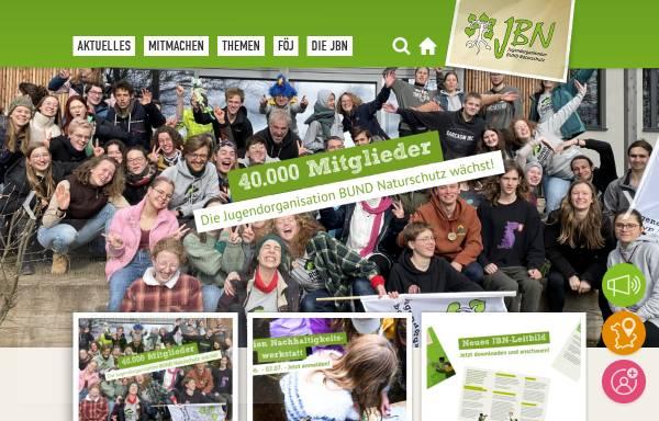 Vorschau von www.jbn.de, Jugendorganisation Bund Naturschutz