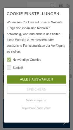 Vorschau der mobilen Webseite www.succow-stiftung.de, Succow Stiftung