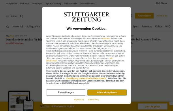 Vorschau von www.stuttgarter-zeitung.de, Popstar an der Geige
