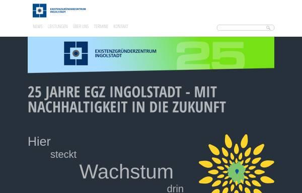 Vorschau von www.egz.de, Existenzgründerzentrum Ingolstadt
